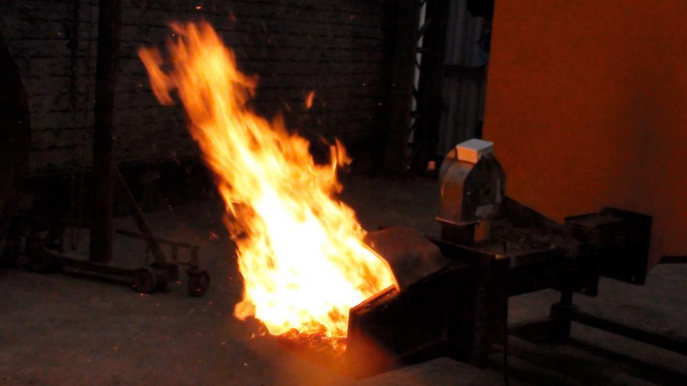 Potência de queima de 40 a 120 Kw