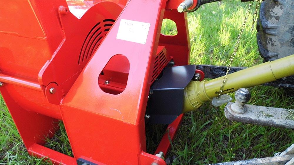 Poténcia del tractor 30 - 60 HP
