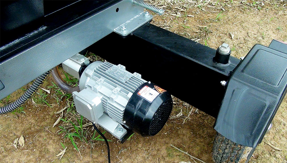 Potente motor eléctrico
