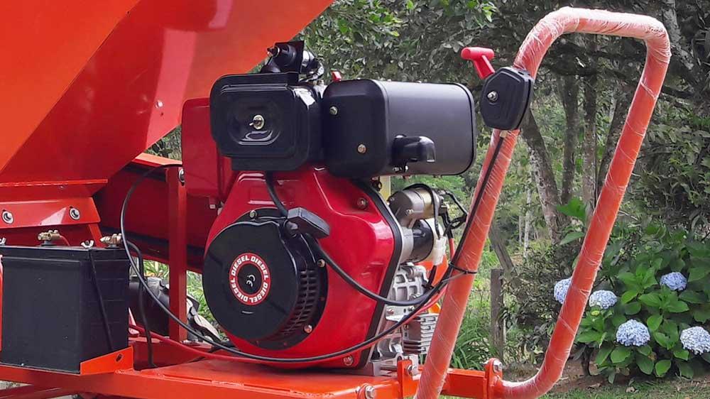 Potente Motor10 CV