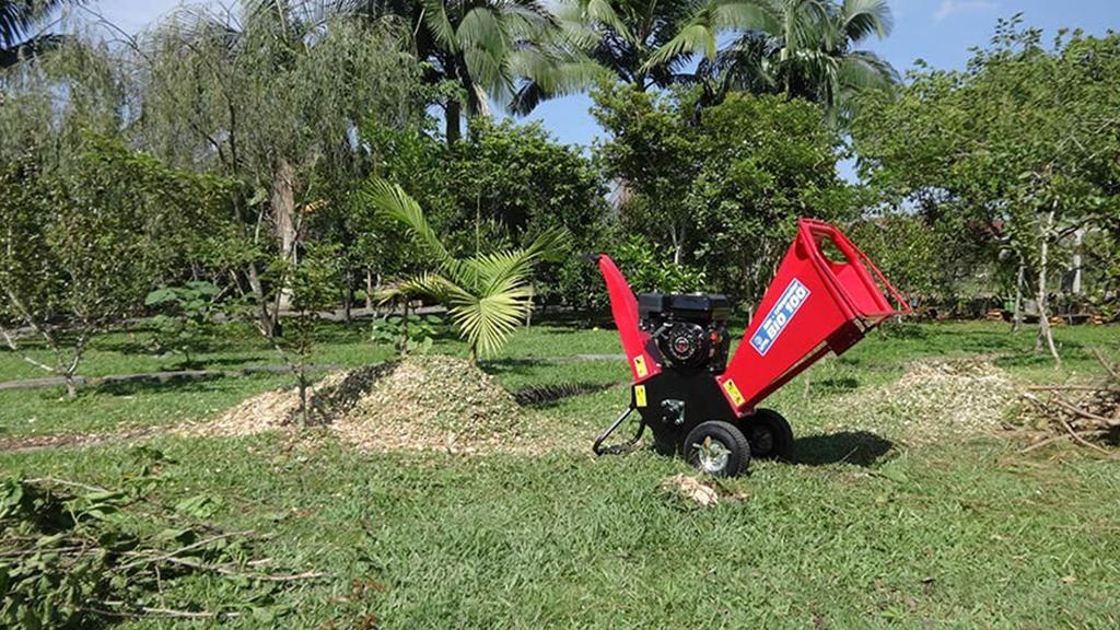 Produz cavacos pequenos e uniforme para cobertura de solo
