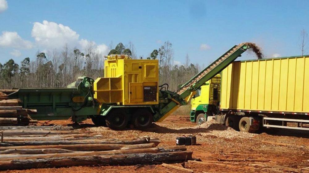 PTML 350/550 x 800 alta produção de cavacos
