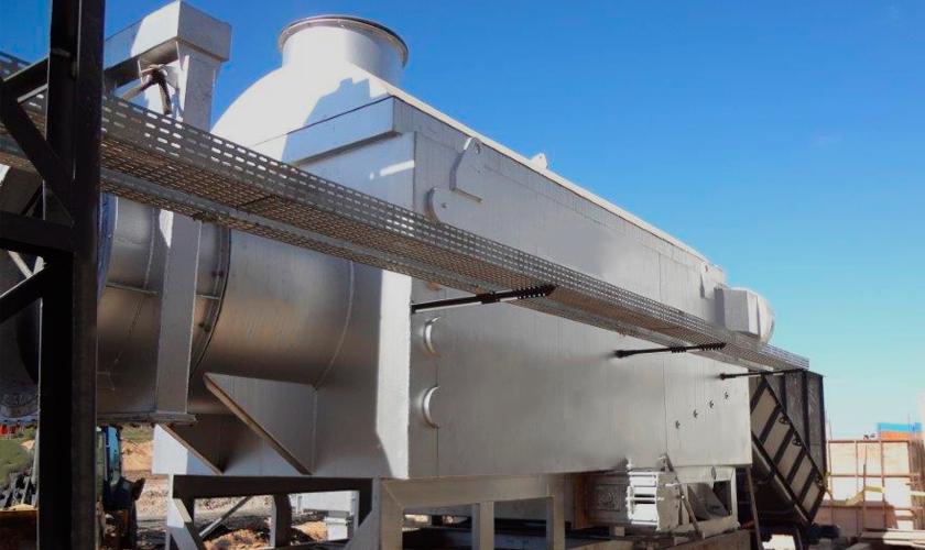 Pyrolytic Biomass Burner QPL 50