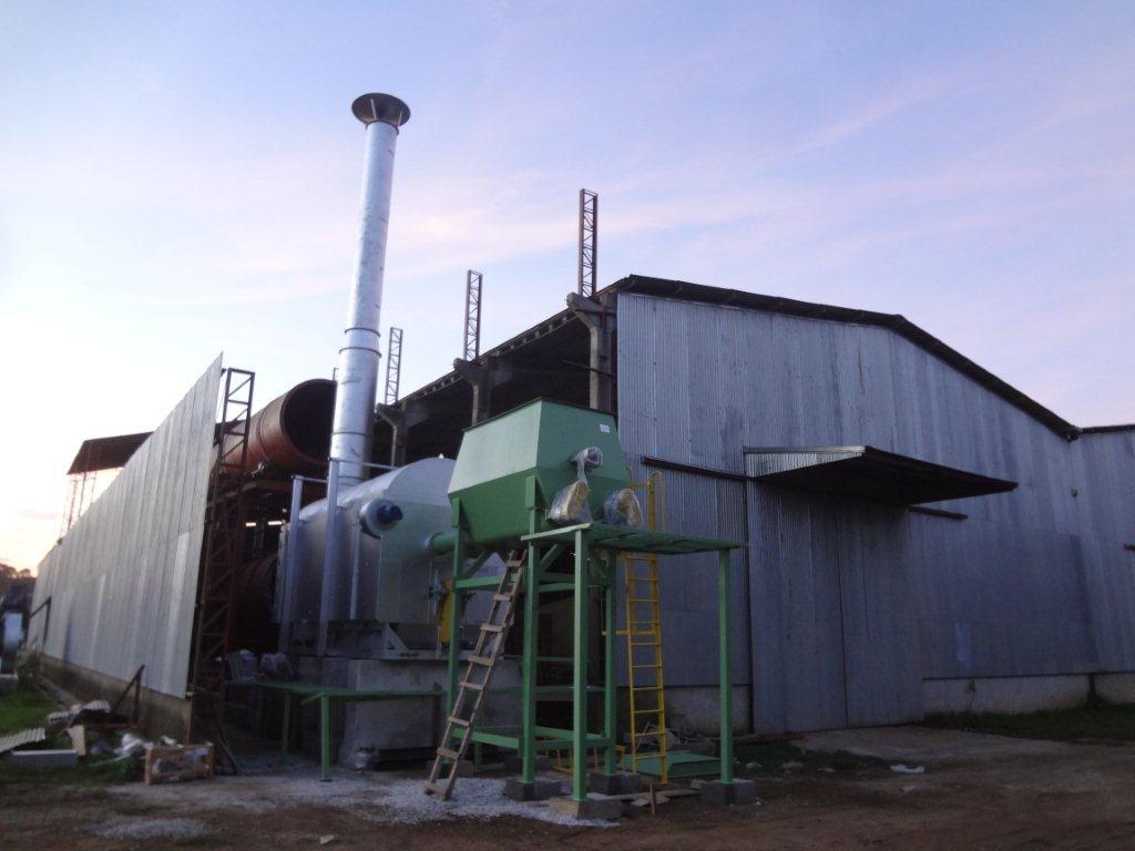 QPL 40 instalado na indústria de fertilizantes
