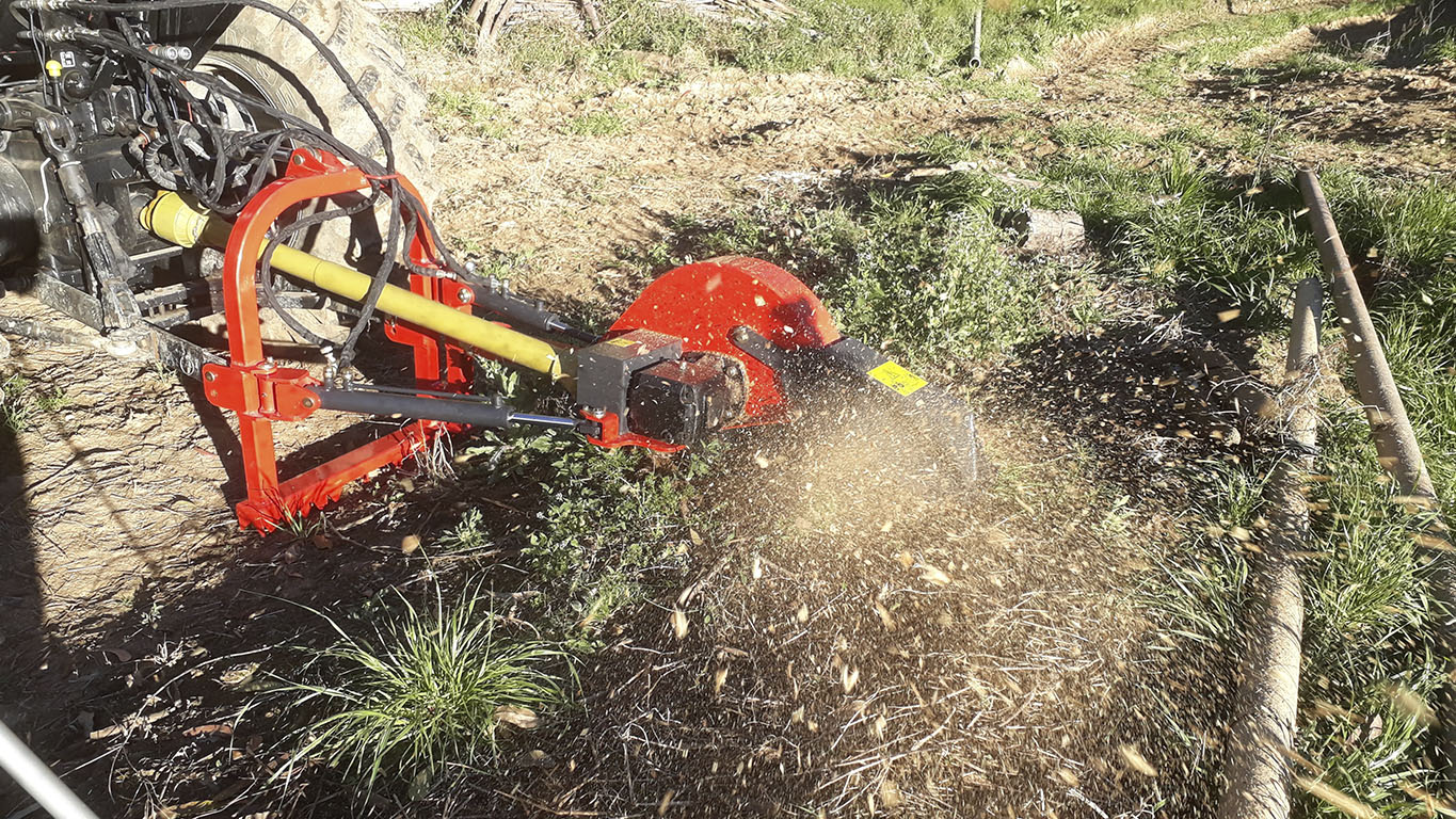 Quick removal of tree stumps from the soil