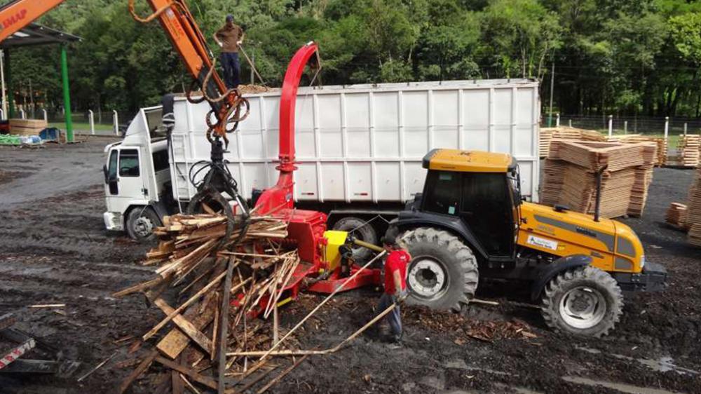 Residuos de madera de cortar PFL 400 x 700 4TT