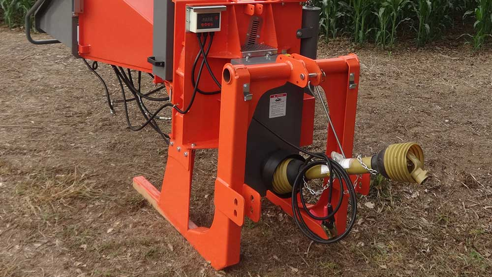 Robust construction and base of the chipeador, ideal for continuous work