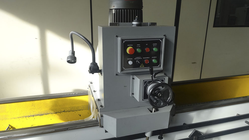 Sharpening head car control panel