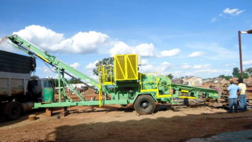 Side view of PTML 240/320 x 600 Plus Recycling