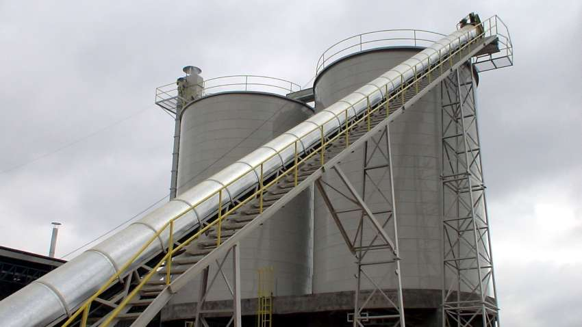 Silos for Lippel biomass - set of 2 silos