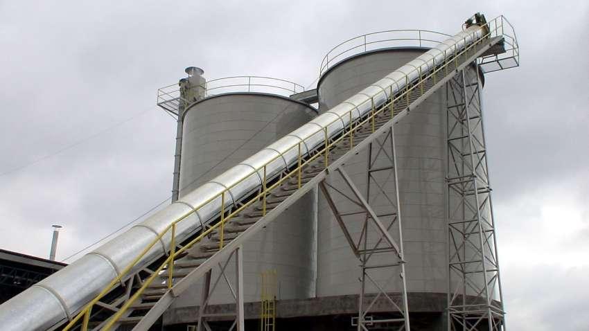 Silos para la biomasa Lippel - conjunto de 2 silos