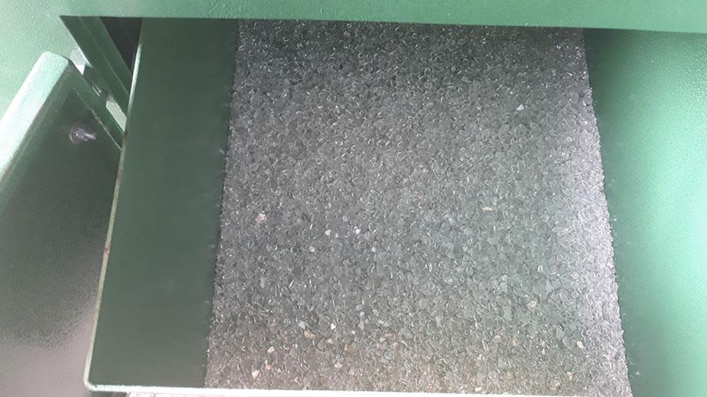Size of the crushed material of 6 -50 mm