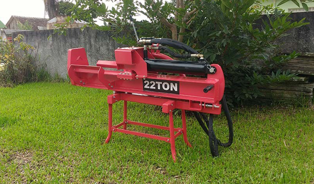 Splitter Firewood the tractor 22 Tons