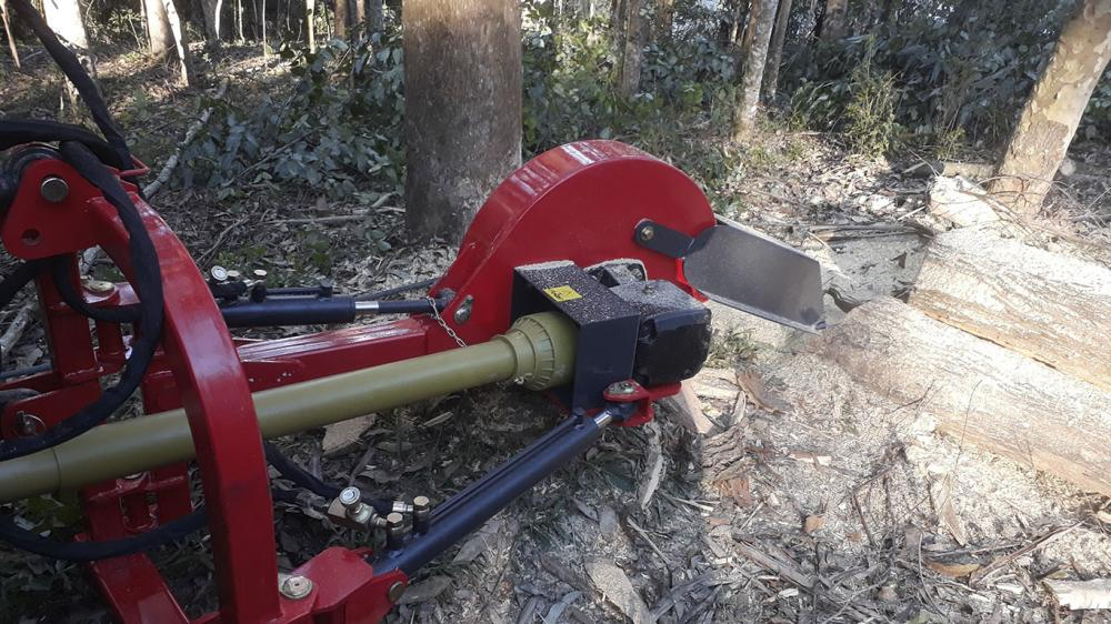 Stump grinder with high hardness cutting disc