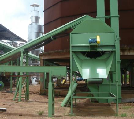 Tamiz rotativa para la clasificación de residuos