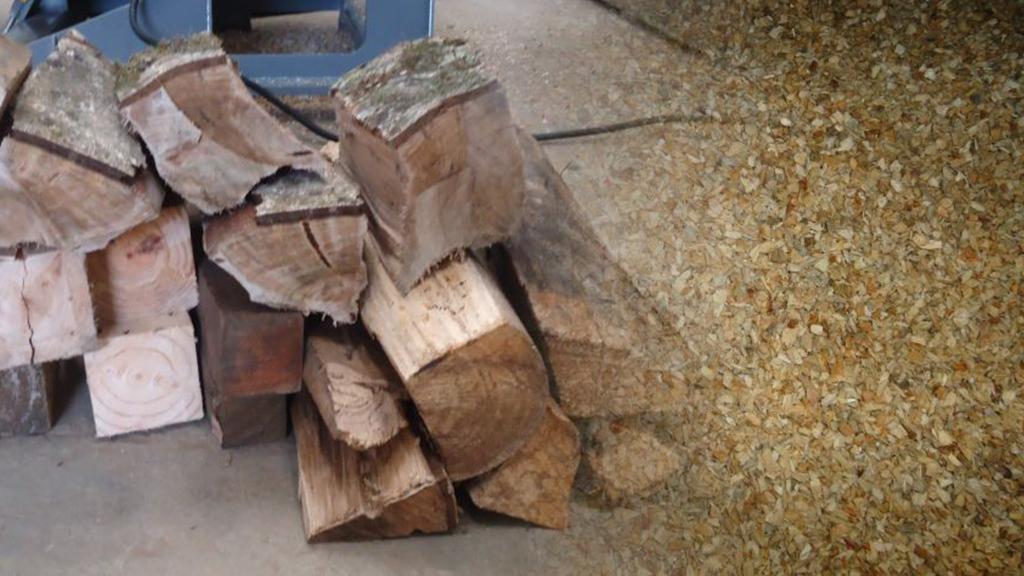 TMF rallado madera