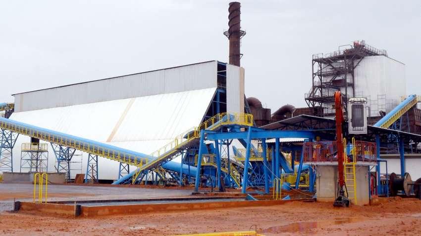 Visão do sistema de alimentação de termoelétrica a biomassa