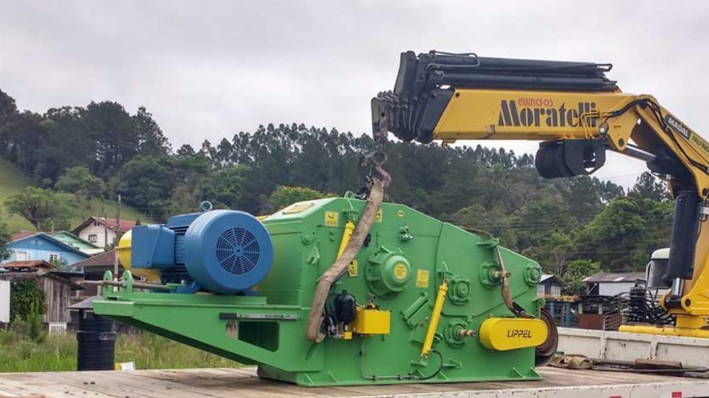 Wood chipper being sent to Honduras