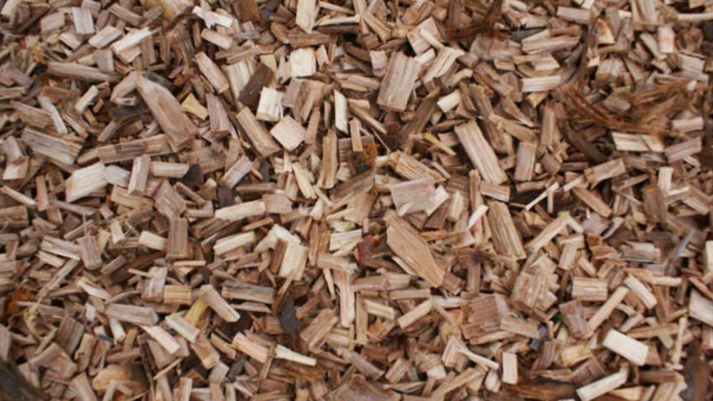 wood chips produced with the Chipper PFL 400 x 700 T