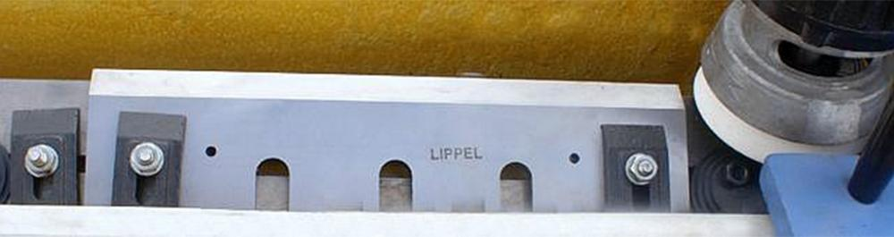 With sharpeners Lippel you get quality sharpening for better machine productivity and durability of its knives.